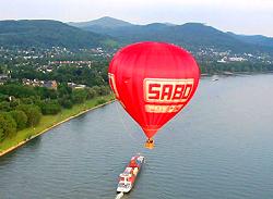 Mit dem Heißluftballon die Region um Bad Neuenahr entdecken